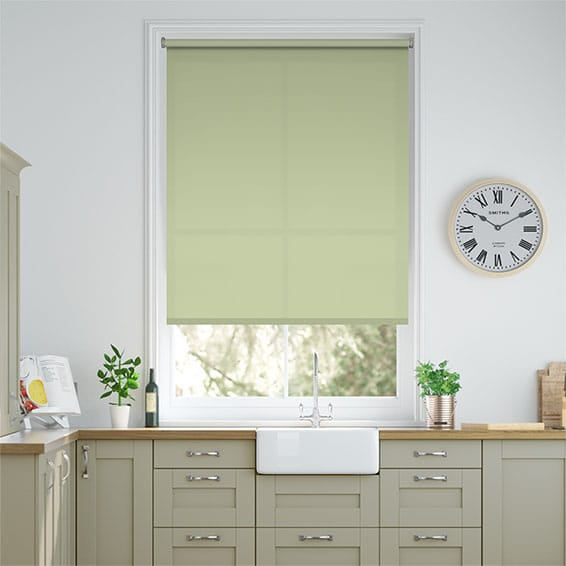 Valencia Tea Green Roller Blind