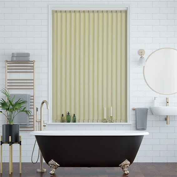 Valencia Tea Green Vertical Blind