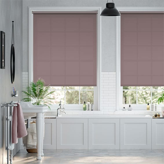 Valencia Thistle Roller Blind