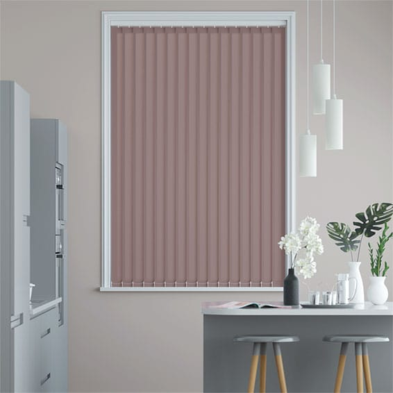 Valencia Thistle Vertical Blind