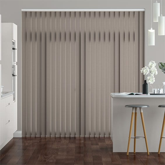 Valencia Touchstone Grey  Vertical Blind
