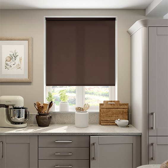 Valencia Truffle Roller Blind
