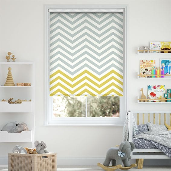 Vector Border Dandelion Roller Blind
