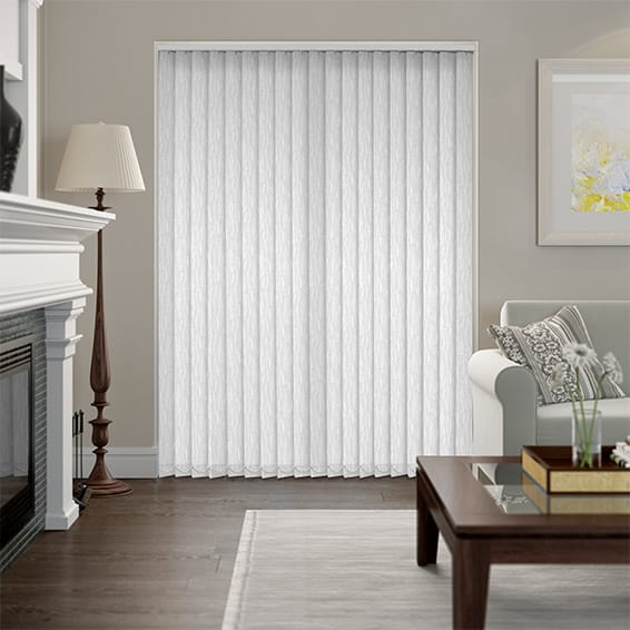 Altea White Vertical Blind