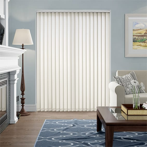Valencia Cotton Vertical Blind