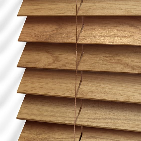 Wooden Blinds Beautiful English Oak Wood Blind