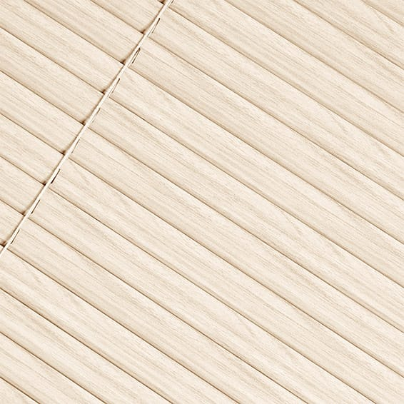 307mm x 803mm Ash Perfect Fit Wooden Blinds